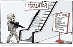 Cartoonist Signe Wilkinson  Signe Wilkinson's Editorial Cartoons 2007-01-12 military plan