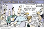Cartoonist Signe Wilkinson  Signe Wilkinson's Editorial Cartoons 2007-03-21 college sports
