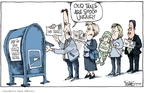 Cartoonist Signe Wilkinson  Signe Wilkinson's Editorial Cartoons 2007-04-13 mother son