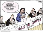Cartoonist Signe Wilkinson  Signe Wilkinson's Editorial Cartoons 2007-06-29 diplomat