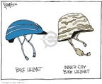 Cartoonist Signe Wilkinson  Signe Wilkinson's Editorial Cartoons 2007-07-17 helmet