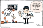 Cartoonist Signe Wilkinson  Signe Wilkinson's Editorial Cartoons 2007-07-27 basketball