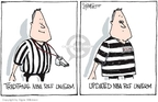 Cartoonist Signe Wilkinson  Signe Wilkinson's Editorial Cartoons 2007-08-17 basketball