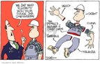 Cartoonist Signe Wilkinson  Signe Wilkinson's Editorial Cartoons 2007-09-27 labor