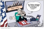Cartoonist Signe Wilkinson  Signe Wilkinson's Editorial Cartoons 2007-11-12 2000 election Supreme Court