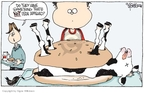 Cartoonist Signe Wilkinson  Signe Wilkinson's Editorial Cartoons 2008-02-20 food