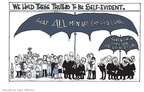 Cartoonist Signe Wilkinson  Signe Wilkinson's Editorial Cartoons 2008-06-16 Chief Justice
