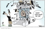 Cartoonist Signe Wilkinson  Signe Wilkinson's Editorial Cartoons 2008-06-26 privacy