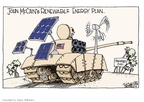Cartoonist Signe Wilkinson  Signe Wilkinson's Editorial Cartoons 2008-07-22 John McCain