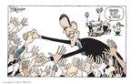 Cartoonist Signe Wilkinson  Signe Wilkinson's Editorial Cartoons 2008-08-01 John McCain