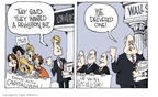Cartoonist Signe Wilkinson  Signe Wilkinson's Editorial Cartoons 2008-10-10 deliver