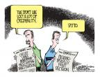 Cartoonist Mike Smith  Mike Smith's Editorial Cartoons 2012-06-17 bicycle