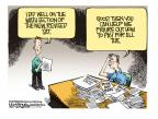 Cartoonist Mike Smith  Mike Smith's Editorial Cartoons 2014-03-09 education
