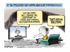 Cartoonist Mike Smith  Mike Smith's Editorial Cartoons 2014-05-29 graduation