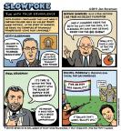 Cartoonist Jen Sorensen  Jen Sorensen's Editorial Cartoons 2011-11-14 George W. Bush congress