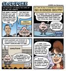 Cartoonist Jen Sorensen  Jen Sorensen's Editorial Cartoons 2008-11-17 slowpoke