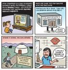 Cartoonist Jen Sorensen  Jen Sorensen's Editorial Cartoons 2013-06-10 education