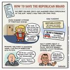 Cartoonist Jen Sorensen  Jen Sorensen's Editorial Cartoons 2013-10-07 George W. Bush congress