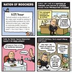 Cartoonist Jen Sorensen  Jen Sorensen's Editorial Cartoons 2014-01-13 labor