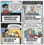Cartoonist Jen Sorensen  Jen Sorensen's Editorial Cartoons 2014-02-10 good news