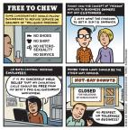 Cartoonist Jen Sorensen  Jen Sorensen's Editorial Cartoons 2014-03-03 enlightenment