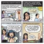 Cartoonist Jen Sorensen  Jen Sorensen's Editorial Cartoons 2014-04-21 isn't