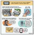 Cartoonist Jen Sorensen  Jen Sorensen's Editorial Cartoons 2014-09-08 cell phone