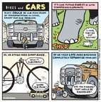 Cartoonist Jen Sorensen  Jen Sorensen's Editorial Cartoons 2015-04-20 bicycle