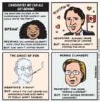 Cartoonist Jen Sorensen  Jen Sorensen's Editorial Cartoons 2016-04-04 democratic candidate