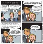 Cartoonist Jen Sorensen  Jen Sorensen's Editorial Cartoons 2016-10-10 republican politician