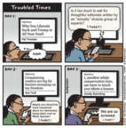 Cartoonist Jen Sorensen  Jen Sorensen's Editorial Cartoons 2018-03-12 time