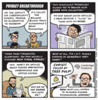 Cartoonist Jen Sorensen  Jen Sorensen's Editorial Cartoons 2018-03-27 Cambridge Analytica