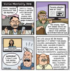 Cartoonist Jen Sorensen  Jen Sorensen's Editorial Cartoons 2018-05-08 college football