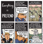 Cartoonist Jen Sorensen  Jen Sorensen's Editorial Cartoons 2019-02-18 immigration wall