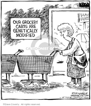 Speed bump at cartoonistgroup cartoon view and uses our grocery carts are genetically modified publicscrutiny Choice Image