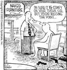 Cartoonist Dave Coverly  Speed Bump 2003-06-18 furniture shop