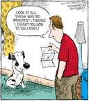 Cartoonist Dave Coverly  Speed Bump 2008-12-01 dog