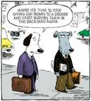 Cartoonist Dave Coverly  Speed Bump 2009-02-20 dog