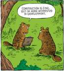 Cartoonist Dave Coverly  Speed Bump 2009-03-10 forest animal