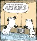 Cartoonist Dave Coverly  Speed Bump 2009-04-10 dog