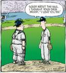 Cartoonist Dave Coverly  Speed Bump 2009-06-23 baseball