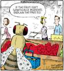 Cartoonist Dave Coverly  Speed Bump 2009-06-27 fruit
