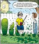Cartoonist Dave Coverly  Speed Bump 2009-08-08 gardening