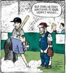 Cartoonist Dave Coverly  Speed Bump 2009-09-10 home plate