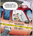 Cartoonist Dave Coverly  Speed Bump 2009-10-23 dog breed
