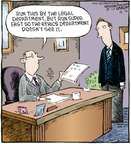 Cartoonist Dave Coverly  Speed Bump 2009-12-21 law firm