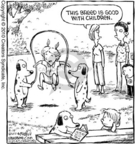 Cartoonist Dave Coverly  Speed Bump 2010-04-14 dog breed