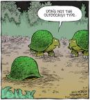 Cartoonist Dave Coverly  Speed Bump 2010-05-19 personality