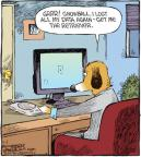Cartoonist Dave Coverly  Speed Bump 2010-11-06 dog breed