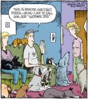 Cartoonist Dave Coverly  Speed Bump 2010-11-23 dog